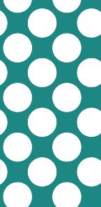 描写色の明度(V)が50で作られた水玉模様
