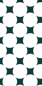 描写色の明度(V)が22で作られた水玉模様
