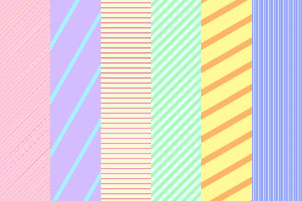 Gimp簡単に斜めの縞模様ストライプ柄を描く方法 なんてんブログ