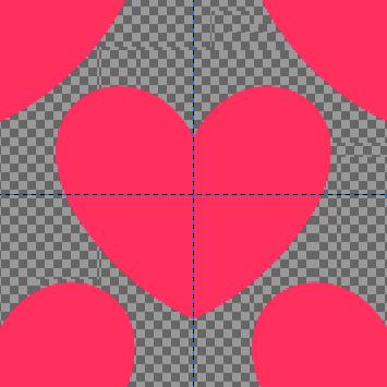 パターンに追加するイラスト