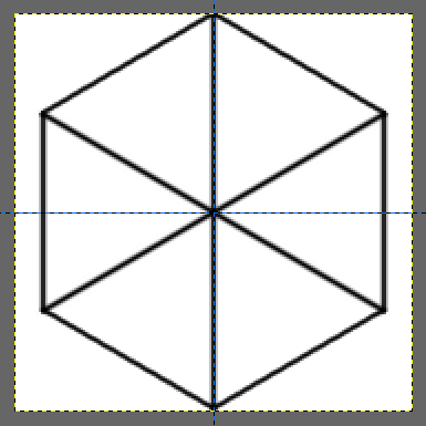 六角形を作る