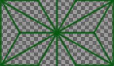 麻の葉のパターン