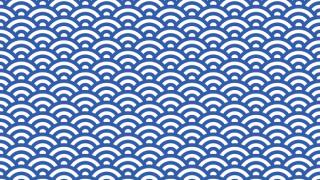 青海波のイラスト