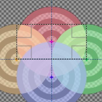 パターンに追加する部分を選択