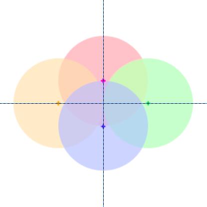 青海波の描き方:配置図