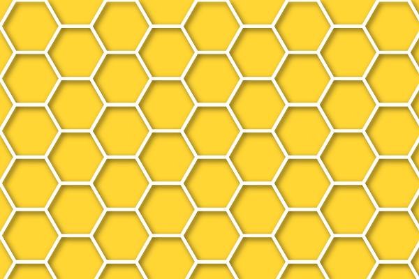 蜂の巣のイラスト