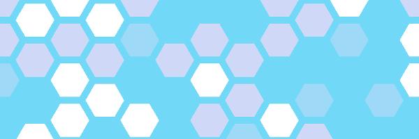 六角形のイラスト
