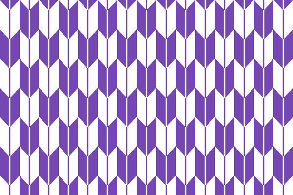矢絣の描き方:矢絣のイラスト
