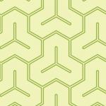 毘沙門亀甲の描き方:毘沙門亀甲のイラスト