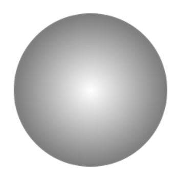 グラデーションの玉ボケブラシ