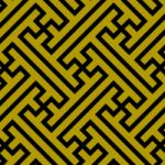 GIMP*紗綾形(さやがた)の描き方